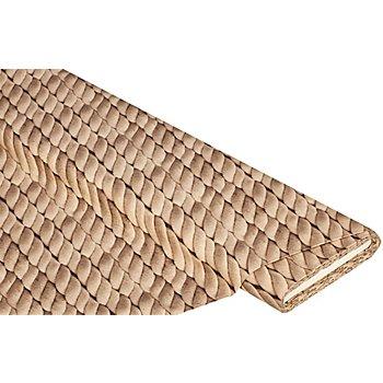 Baumwollstoff-Digitaldruck 'Seile Ria', natur