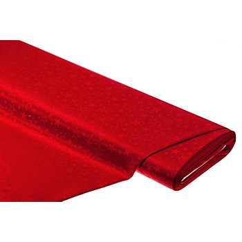 Damast 'Sterne', rot