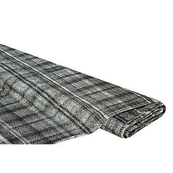 Tissu javanaise 'aspect tissé', gris