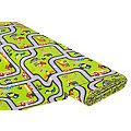 "Tissu de décoration ""tapis de jeu"", vert multicolore"