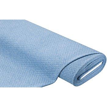 Stepp-Sweat, jeansblau-melange