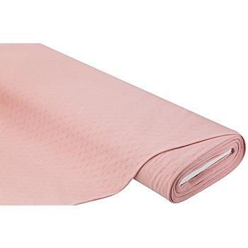 Feinstrick-Jersey 'Ajour', rosé