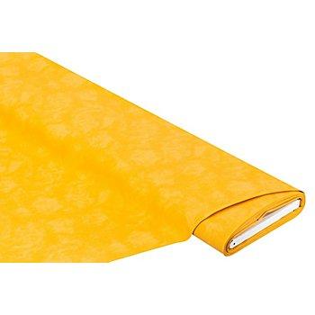 Tissu coton 'moiré', ocre