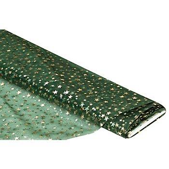 Organza 'Sterne', grün
