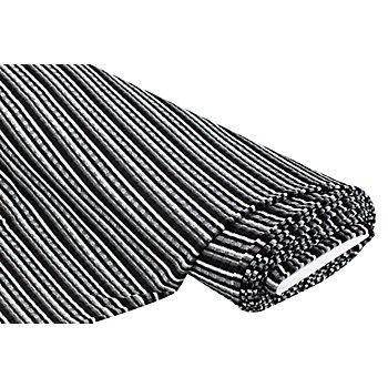 Rippstrick mit Glitzergarn, schwarz/silber