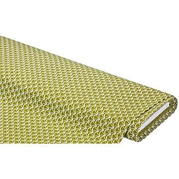 Dekostoff Gras abstrakt 'Lorena', grün color