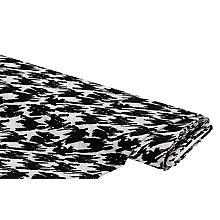 Elastik-Crêpe 'Scribble', offwhite/schwarz