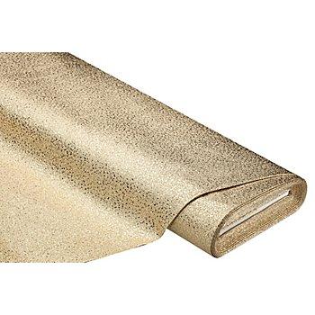 Glitzer-Lederimitat, gold