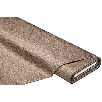 Glitzer-Lederimitat, bronze