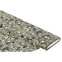 Baumwollstoff-Digitaldruck 'Skelette Ria'