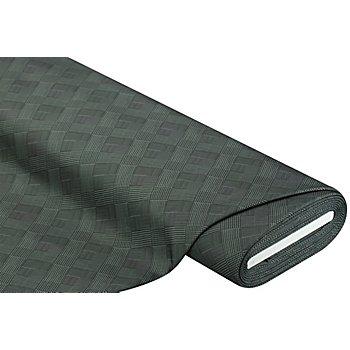 Tissu softshell 'Glencheck', vert/noir