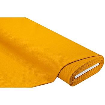 Tissu jersey à côtes, ocre