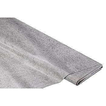 Abwaschbare Tischwäsche - Wachstuch Melange, graphit
