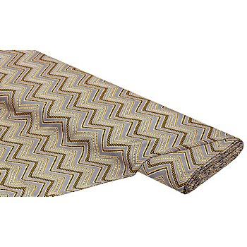 Javanaise 'Zacken', grau/gelb/schwarz
