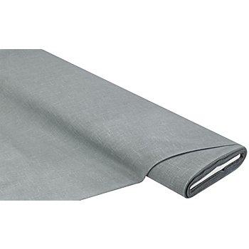 Vorhangstoff in Leinen-Optik, grau