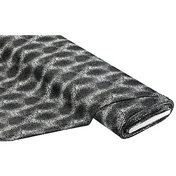Elastik-Jersey 'Leopard', grau-color