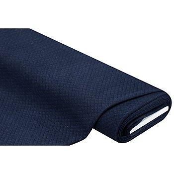 Stepp-Sweat, nachtblau-melange