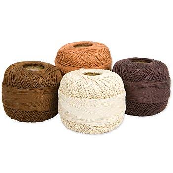 Woll Butt Set éco de fil à crocheter Diana, marron