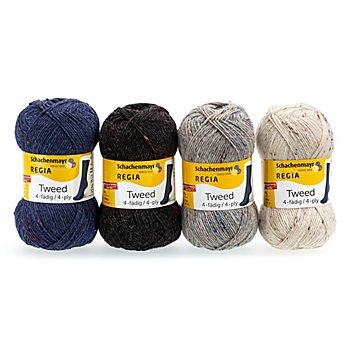 Schachenmayr Laine Regia 4 fils, tweed