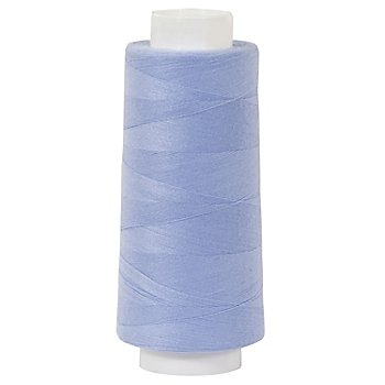 buttinette Overlockgarn, Stärke: 120, 2500m-Spule, eisblau