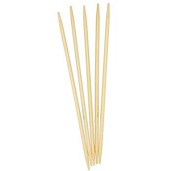 buttinette Strumpfstricknadeln, Bambus, 15 cm