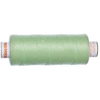 buttinette Fil à coudre universel, vert tilleul, grosseur : 100, bobine de 500 m