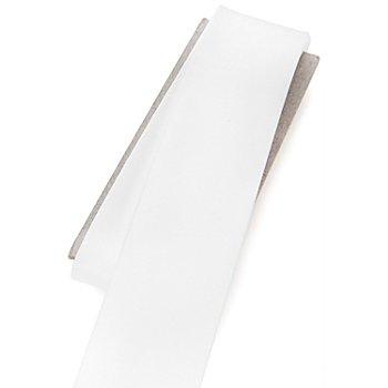 buttinette Satin-Schrägband, weiss, Breite: 3 cm, Länge: 3 m