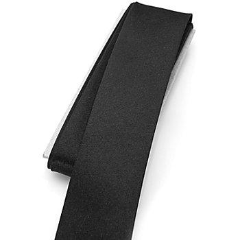buttinette Satin-Schrägband, schwarz, Breite: 3 cm, Länge: 3 m