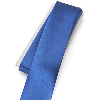 buttinette Satin-Schrägband, royal, Breite: 3 cm, Länge: 3 m