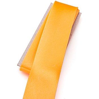 buttinette Satin-Schrägband, gelb, Breite: 3 cm, Länge: 3 m