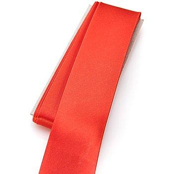 buttinette Satin-Schrägband, rot, Breite: 3 cm, Länge: 3 m