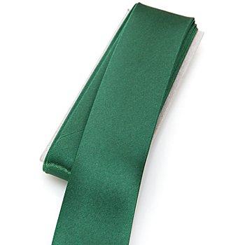buttinette Satin-Schrägband, tanne, Breite: 3 cm, Länge: 3 m
