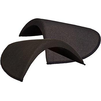 Kleiber Schulterpolster 'Halbmond', schwarz, Grösse: 130 x 175 x 13 mm