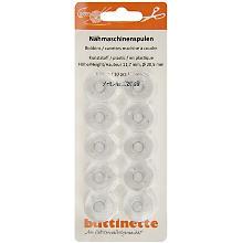 buttinette Nähmaschinenspulen für CB-Greifer, Ø 20,5 mm, Höhe: 11,7 mm