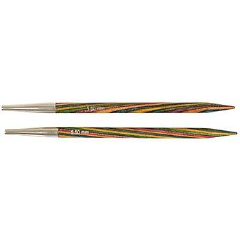 Pointes d'aiguilles 'Symfonie' pour systèmes Knit Pro, bois de bouleau, 11,5 cm