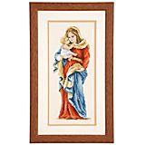 "Kreuzstichbild ""Madonna"", 13 x 28 cm"