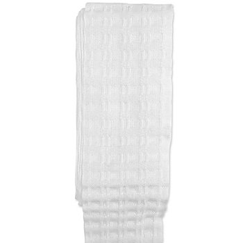 Galon fronceur extensible, blanc, largeur : 5 cm, 3,5 m