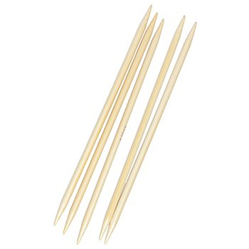 Prym Strumpfstricknadeln, Bambus, 20 cm