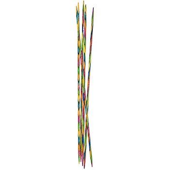 KnitPro Aiguilles à chaussettes 'Symfonie', bois de bouleau, 20 cm