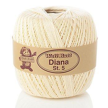 Woll Butt Diana, Stärke 5 - Baumwollgarn, hellgelb