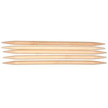 buttinette Strumpfstricknadeln, Bambus, 20 cm