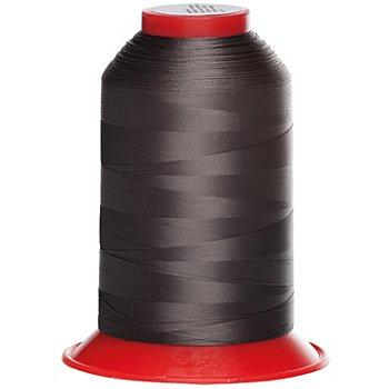 buttinette Overlockgarn, Feinstärke: 200, 5000-m-Spule, grau