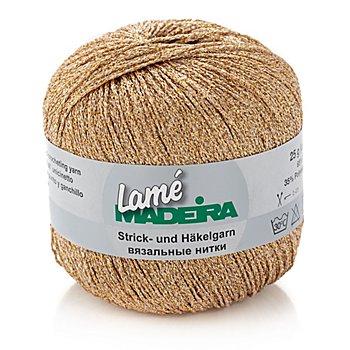 Madeira Lamé Häkelgarn 'gold'