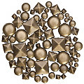 buttinette Rivets décoratifs, laiton vieilli, contenu : 200 pièces