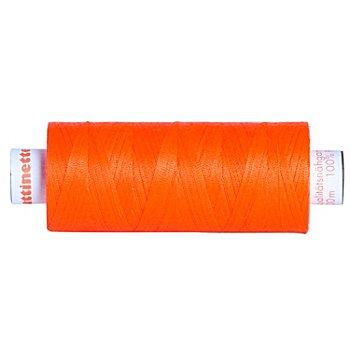 buttinette Fil à coudre universel, orange fluo, grosseur : 100, bobine de 500 m