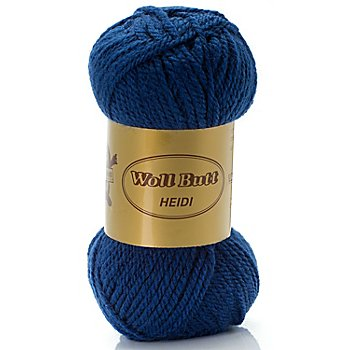 Woll Butt Laine Heidi Uni, bleu jeans
