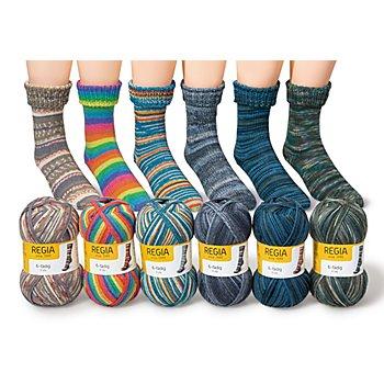 Regia Sockenwolle 6-fädig Color