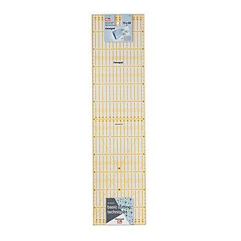 Prym Rollschneider-Lineal 'Omnigrid', in cm-Einheit, Grösse: 15 x 60 cm