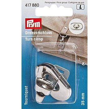 Prym Drehverschluss für Taschen, Grösse: 35 x 20 mm
