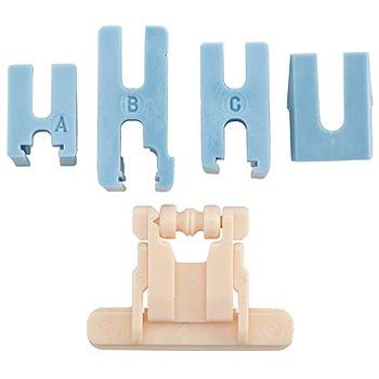 YKK Spezial-Reißverschlussfuß für nahtverdeckte Reißverschlüsse